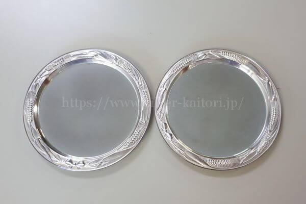 銀の小皿(銘々皿)