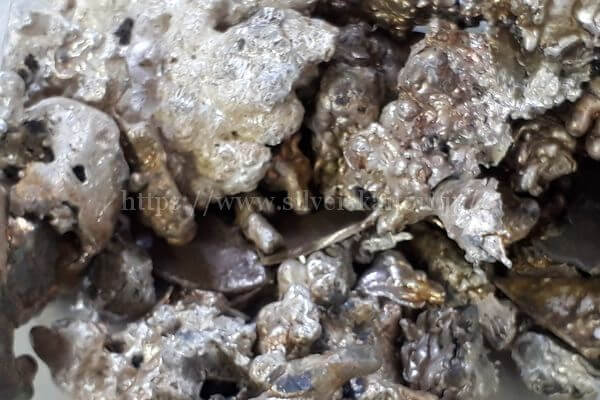 銀の溶解物