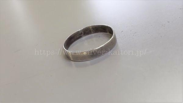 SILVER刻印の指輪